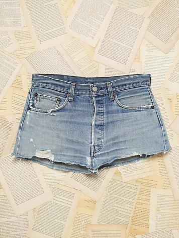 Vintage Levis Denim Short