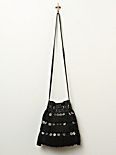 Fringe and Coin Crossbody