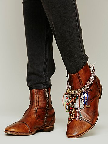 Wrapped Charm Boot Jewelry