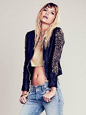 Razzle Dazzle Leather Jacket