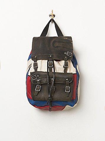 Vintage Borsia Backpack