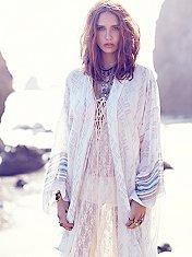 FP ONE Patterned Kimono Jacket