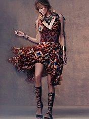 FP ONE Bandhani Wisteria Dress