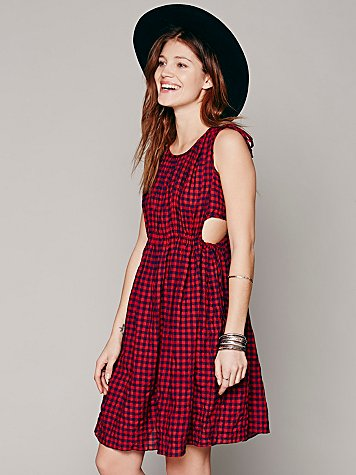 Marco Checked Dress