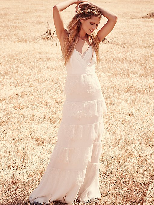 Tiered Lace Maxi