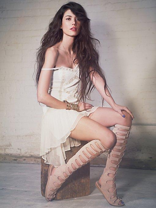 Lace Lattice Dress