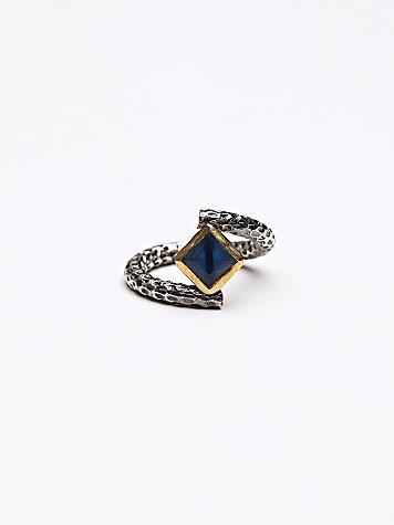 Sapphire Wrap Ring