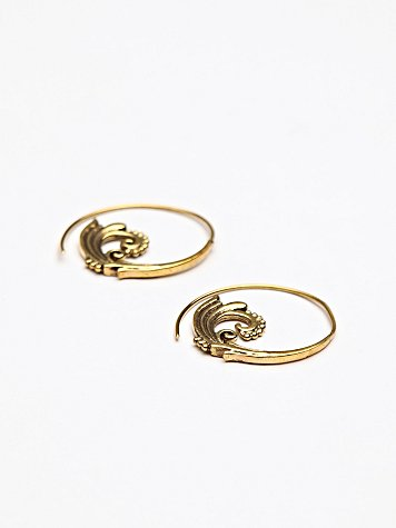 Ornate Swirl Earring