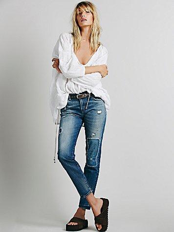 505 Customized Boyfriend Jeans