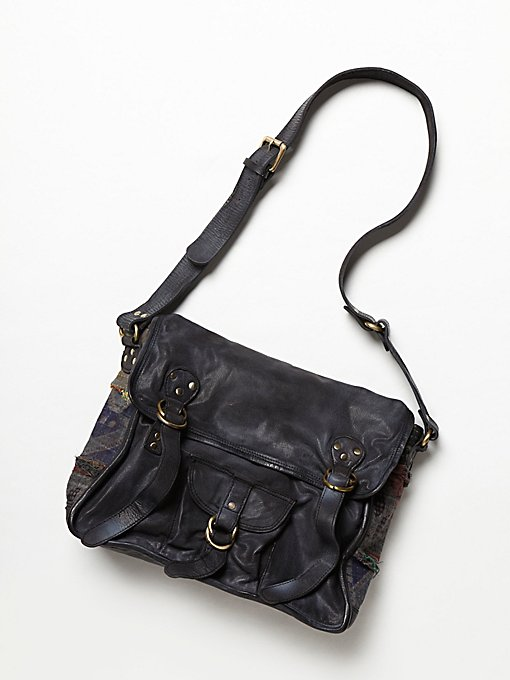 Florence Leather Messenger