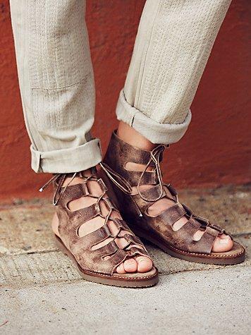 Luka Lace Up Gladiator Sandals