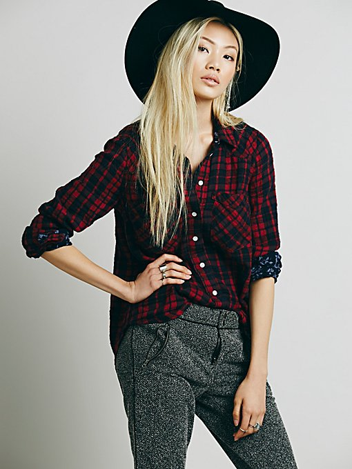 Woodman Plaid Shirt