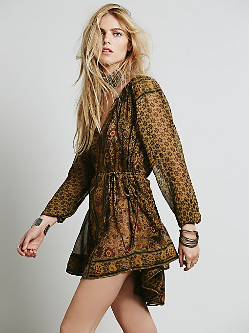 Crosstown Patterns Tunic