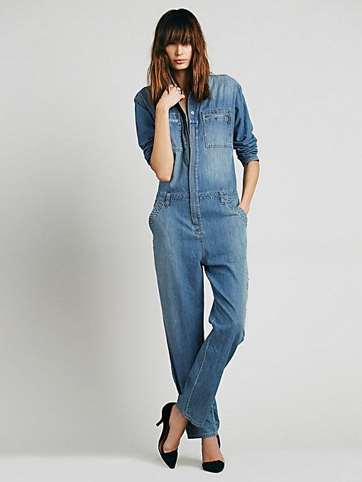 Lost in Time Chambray One Piece