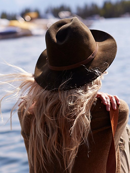 Wardell Distressed Felt Hat