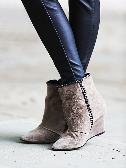 Up All Night Wedge Boot