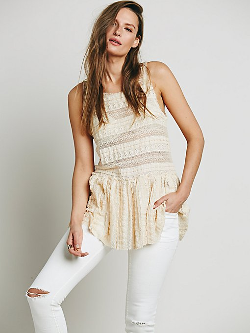 Textured Lace Tunic