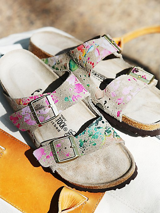 Flower Crush Arizona Birkenstock