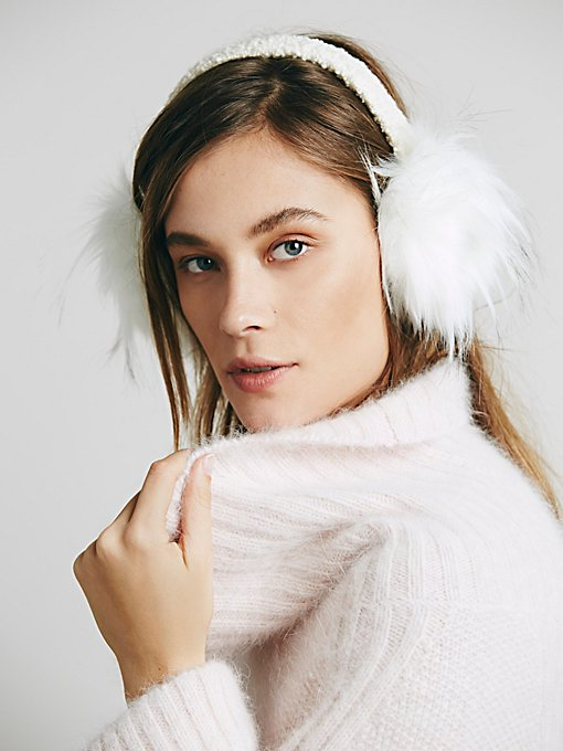 Winters Fur Earmuff