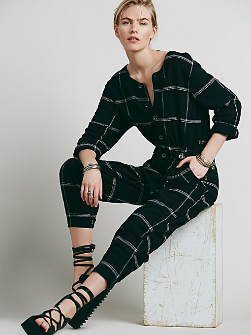 Keep it in Check Relaxed One Piece