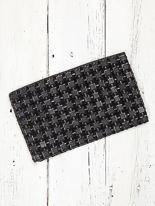 Vintage Plastic Pieced Clutch