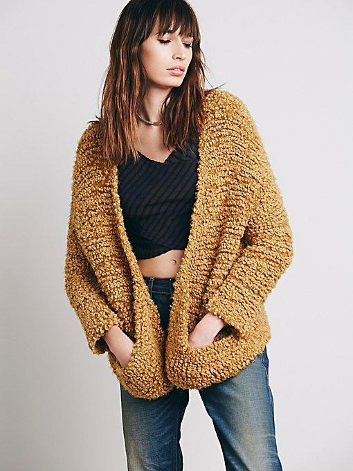 Marshmallow Sweater Jacket
