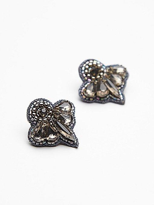 Gem Petal Earrings