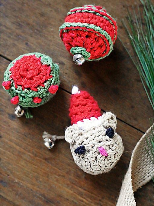 Christmas Catnip Toy Set
