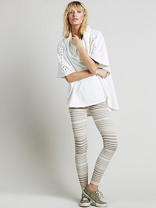 Marbled Stripe Legging
