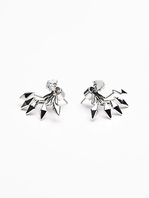 Marble Flare Studs