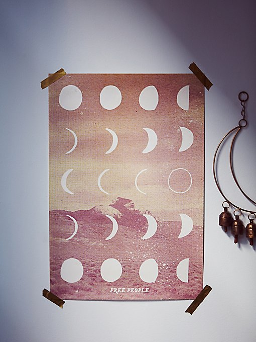 FP Moon Phase Wall Art
