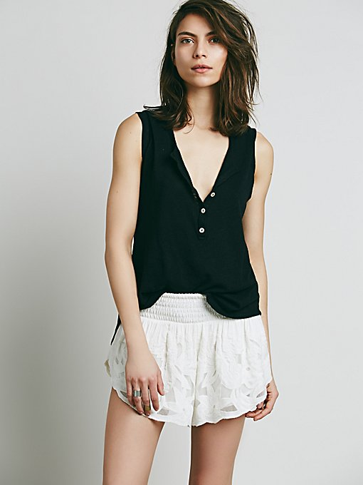 Salt Water Textured Short