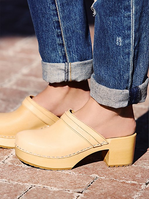 Cross Town Slip On Clog