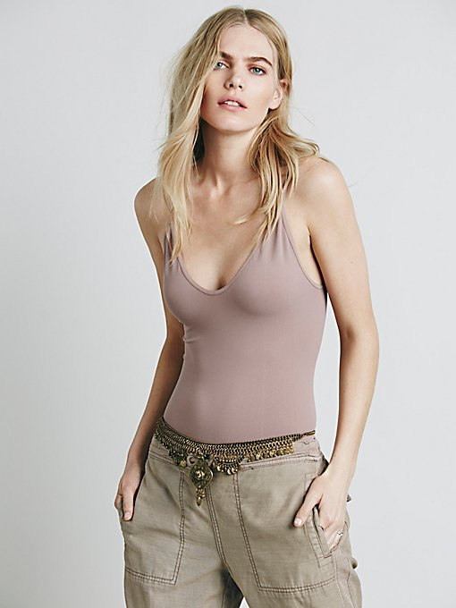 Low Scoop Neck Cami
