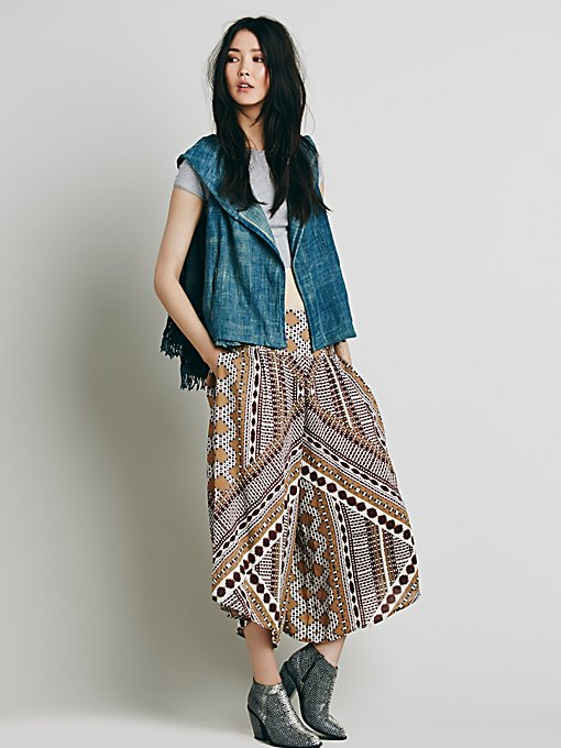 Crossed Paths Culottes