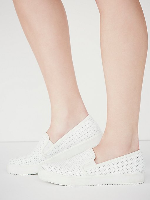 Side Step Slip on Sneaker