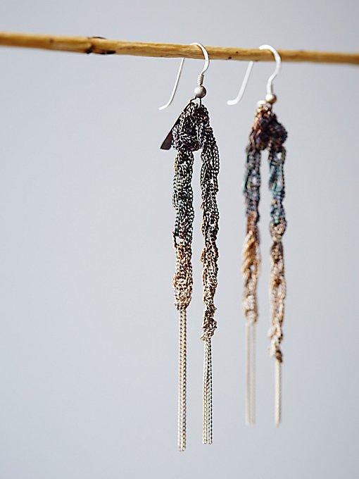 Wreath Chain Earrings