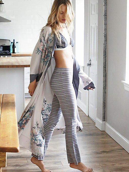 Wow With The Pow Silk Kimono