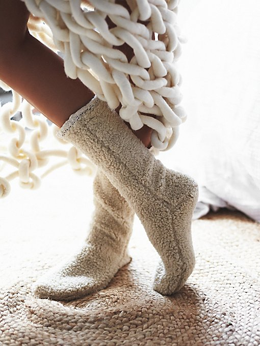 Lodge Slipper Sock