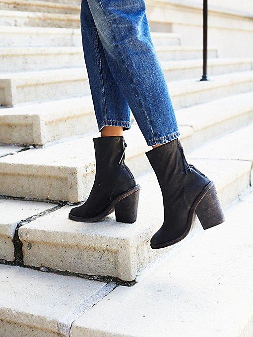 Marquis Heel Boot