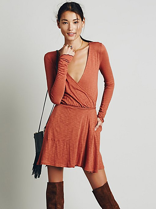 Tiny Dancer Wrap Dress