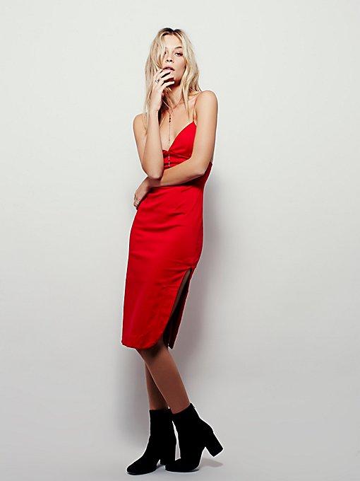 Curve Side Midi Dress