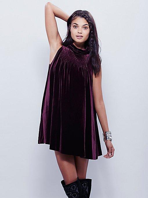 Rosalea Velvet Dress