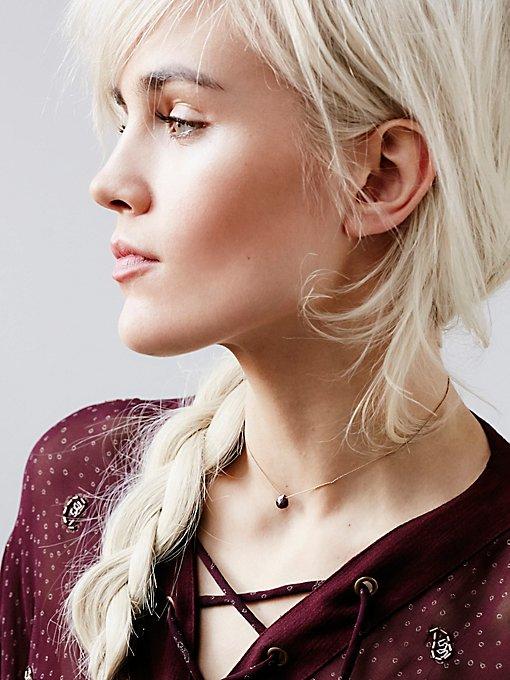 Tear Drop Stone Necklace
