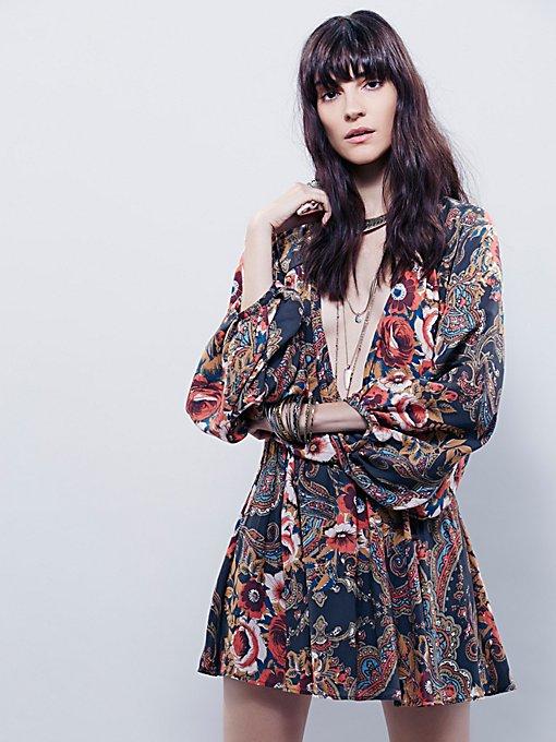 High Plains Printed Dress
