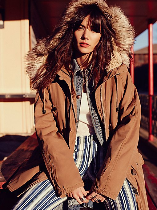 Up in the Hills Oversized Parka