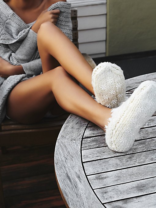 Snowcaps Slipper Sock
