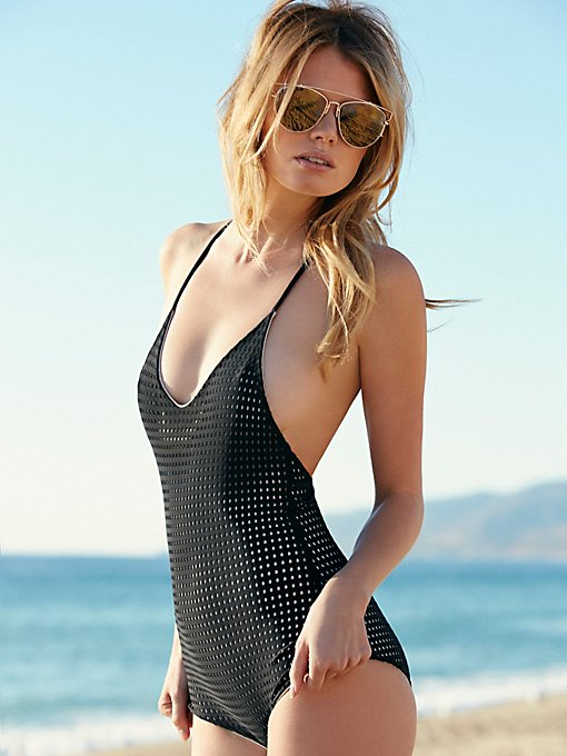 Mesh Sunset One Piece