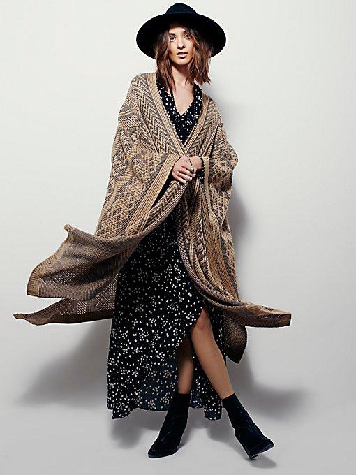 Sundown Maxi Kimono