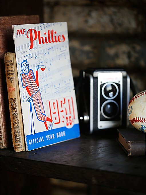 Vintage 1950 Phillies Yearbook